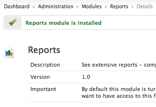 reports-module-installed