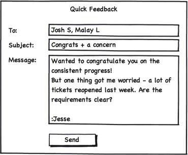 v1.6 quick feedback