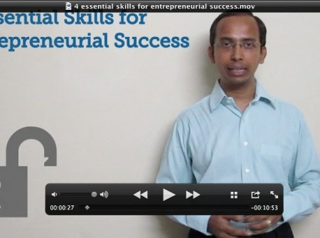 4 Essential Skills For Entrepreneurial Success - Video