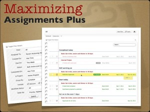 maximizing assignments plus