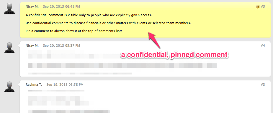 confidential-pinned-comment