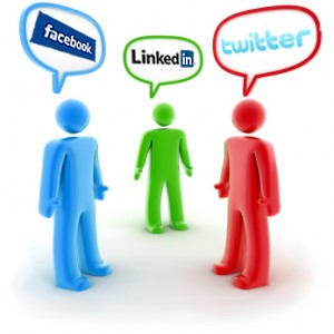 Social Media -Facebook,Twitter,Linkedin