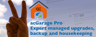 acGarage - my first main product!