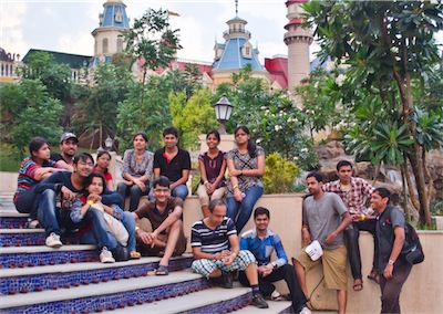 Team outing to Imagica amusement park