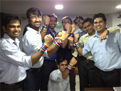 Boys with Bands - on friendship day